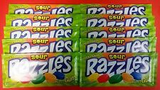 Razzles Sour 10ct Candy Set FREE SHIPPING