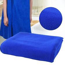 Fast Drying Beach Bath Towel Gym Sport Blue Microfiber Luxury Soft Face Towel TR
