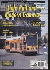 LIGHT RAIL AND MODERN TRAMWAY MAGAZINE - September 1995 - Vol. 58 - No. 693