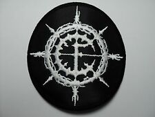 CARPATHIAN FOREST  round  EMBROIDERED  PATCH