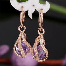 New Design Wonderful 18k Gold Filled Colors cubic zirconia Dangle Earrings