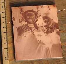 Galvano Kupferklischee Druckplatte Drucken Handsatz rar letterpress copper plate