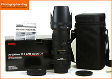 Sigma EX 70-200mm F2.8 APO OS DG Optical Stabilizer HSM Zoom Canon Free UK PP