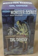 Moebius Monster Scenes DR DEADLY plastic snap model kit Sealed # 631