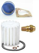 "Oil Burner Tune Up Kit 0.65 Gallon 60° Hollow Nozzle, Filter And ""A"" Pump Screen"