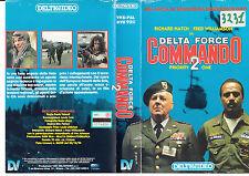 DELTA FORCE COMMANDO 2 (1990) VHS