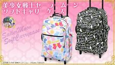 NEW Sailor Moon Trolly Bag Soft Carry Case Silhouette or Ribbon Bandai Japan F/S