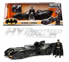 JADA 1:24 METALS DC 1989 BATMOBILE & BATMAN DIE-CAST BLACK 98260