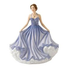 Royal Doulton Pretty Lady Figure Beautiful Wishes Part of Sentiments Range 2016
