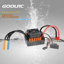 GoolRC Waterproof 45A Brushless ESC w/ 5.8V/3A BEC for 1/10 RC Car Truck M3B1