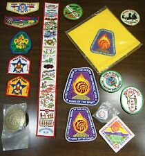 Vintage Boy Scout BSA Patches A + other items | Order of the Arrow | Lot of 16