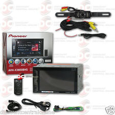 "PIONEER AVH-X3800BHS CAR 6.2"" DVD BLUETOOTH HD RADIO FREE BLACK LICENSEPLATE CAM"