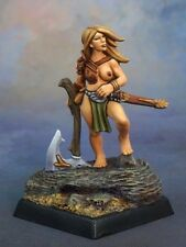 Tyrea Reaper Miniatures Dark Heaven Legends RPG Barbarian Warrior Fighter Melee