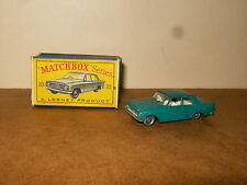 Ancienne / vintage - LESNEY MATCHBOX SERIES - N° 33 FORD ZEPHYR III - 60's