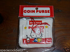 RARE VINTAGE 1976 SANRIO HELLO KITTY & MIMMY SHOPPING MEMO COIN PURSE BRAND NEW