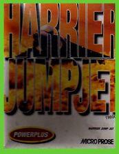 HARRIER JUMP JET pc cdrom giochi sims av-8b simulatore di volo CARTONATO