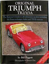 ORIGINAL TRIUMPH TR2/3/3A THE RESTORER'S GUIDE TO ALL SIDESCREEN MODELS - BOOK