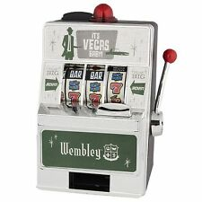 Wembley Vegas Style Slot Machine Saving Bank HOLIDAY EDITION FREE SHIP USA