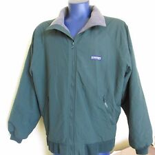 Mens LANDS END XL 46 48 Regular Green Squall Jacket Coat Nylon Winter Thinsulate