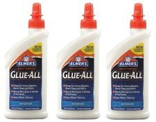3~New Elmers Glue All 8oz. Nonflammable Dries Clear High Strength Adhesive E3820