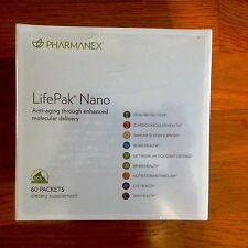 Nu Skin Pharmanex  Lifepak Nano, 60 packets,  Exp 10/18,  new