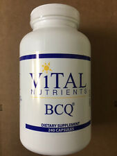 Vital Nutrients BCQ 240 Caps - Fresh & Free Shipping