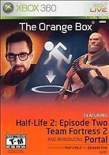 Xbox 360 Platinum Hits - Orange Box: Greatness Is Earned - 5 GAMES IN ONE BOX!