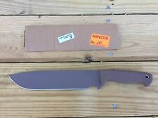 Busse Scrap Yard Knife Company SYKCO  Trash 2 Tan New