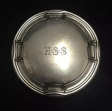 Rare Antique Tiffany Co. Makers Sterling Silver Art Deco Pill Trinket Box