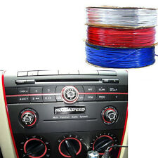 5M Red Edge Car Interior Accessory Garnish Trim Gap Line Decoration Accessory
