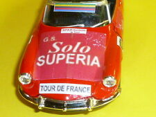 CITROËN DS 19 - SOLO SUPERIA - RIK VAN LOOY -1964  -1/32 - TOUR DE FRANCE - NEUF
