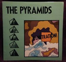 Pyramids Penetration RARE white label promo Test Press Psych near mint lp