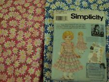 DAISY KINGDOM Patty Reed Dress Pack: Vintage Double Daisies (1A) 5 1/2 yards