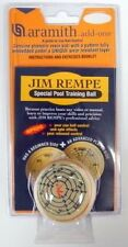 NEW ARAMITH JIM REMPE TRAINING CUE POOL Q BALL, Great Price! FREE SHIPPING