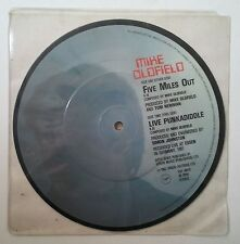 "Mike Oldfield Five Miles Out Single 7"" UK fotodisco color"