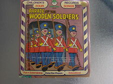 Peter Pan Records The Parade of Wooden Soldiers - Rare 45rpm Record - Brand New