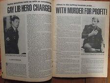 """June, 1980 """"True Detective"""" Magazine(ROGER  CUTSINGER/KENNETH  SPANN/TOM  DIXON)"""