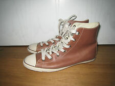 CONVERSE  ALL STARS    SNEAKER       GR. 38  BRAUN    US 7 UK 5  TOP