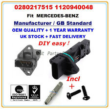 MERCEDES-BENZ Mass Air Flow meter Sensor 0280217515 1120940048 (1st delivery)