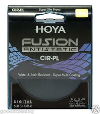 NEW HOYA Super Slim Frame Multi-Coated Fusion Antistatic CPL Cir-PL Filter 52mm