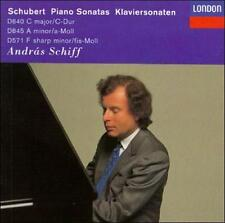 `Schiff, Andr?s`-Schubert: Piano Sonatas Vol 1; CD NEW
