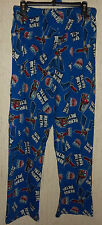 "NWT MENS TRANSFORMERS ""HEAVY METAL"" NOVELTY KNIT PAJAMA / LOUNGE  PANTS  SIZE L"