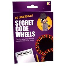 Secret Code Wheels Kit Toy - Everything a Young Spy Needs to Write Secret Codes!