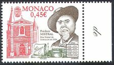 Monaco 2004 Mistral/Writer/Nobel Prize/Literature/Books/People 1v (n41489)