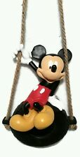 "Disney Mickey Mouse Solar LED Lantern NEW 12"" Garden Statue Figure Figurine"