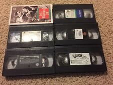 Lot Of 6 Kids Holiday VHS Movies Grinch Santa Clause Frosty Wonderful Life