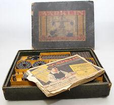 Märklin Metall Baukasten antik Nr. 2 Anleitungsbuch Nr. 71 Vorkriegs- Spielzeug