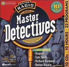 Old Time Radio: Master Detectives Various Artists Music-Good Condition