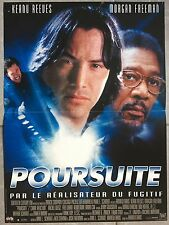 Affiche POURSUITE Chain Reaction KEANU REEVES Morgan Freeman 40x60cm *
