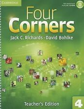 Four Corners Level 4 Teacher's Edition with Assessment Audio CD/CD-ROM by...